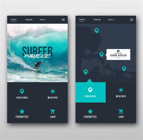Home Design Ideas App by 35 Modern Mobile App Ui Design With Amazing User