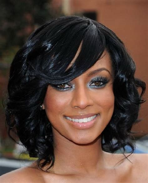 Images Of Black Hairstyles With Bangs by Bangs Black Hairstyle