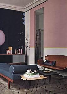 Wie Lange Trocknet Wandfarbe : rosa gelb wei schwarz und alles passt zusammen wand streichen ideen w nde streichen ~ Orissabook.com Haus und Dekorationen