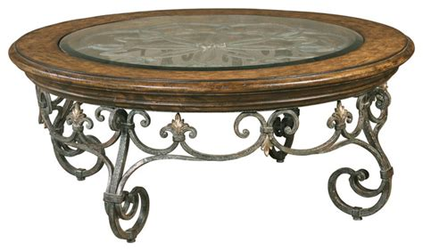 round wrought iron coffee table coffee tables ideas wrought iron coffee table with glass
