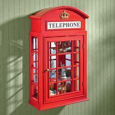 london telephone booth mirror  hobby lobby london