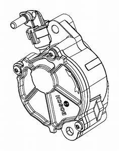 2014 Jeep Grand Cherokee Pump  Vacuum