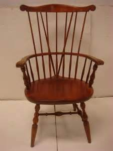 nichols stone comb and brace back windsor chair lot 309