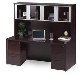 aspen home desk and hutch aspen essex home office credenza hutch l shaped desk