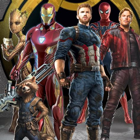 the guardians and avengers assemble on new infinity war