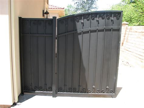 side yard gates side yard gates fresno fence connection