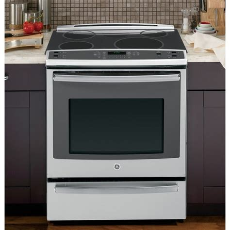 shop ge profile     electric  cleaning induction convection range  warming
