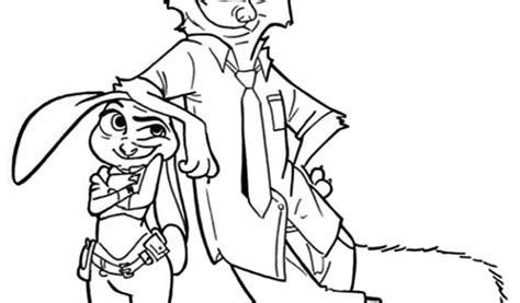 Get This Online Zootopia Coloring Pages 289290