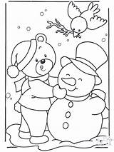 Coloring Snow Funnycoloring Winter Advertisement sketch template