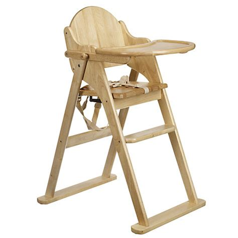 buy east coast folding wood highchair lewis