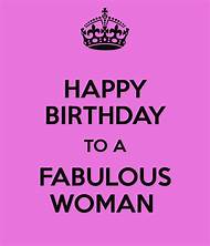 Happy Birthday Fabulous Woman