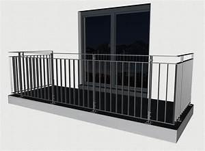 Tischgestell Metall Nach Mass : balkongel nder nach ma online kaufen bogner metall ~ Markanthonyermac.com Haus und Dekorationen