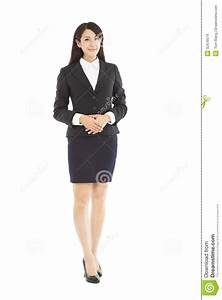 Beautiful Business Woman Standing Stock Images - Image ...