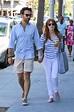 JESSICA CHASTAIN and Gian Luca Passi de Preposulo Out in ...