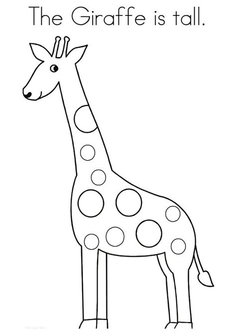 cute giraffe coloring pages   toddlers giraffe