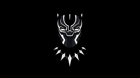 Hd Wallpaper For Mobile Back Cover by Black Panther Minimal Artwork 5k Wallpapers Hd