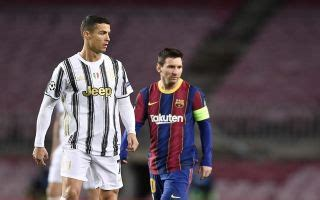 Ronaldo silences Messi 'rivalry' talk with classy words ...