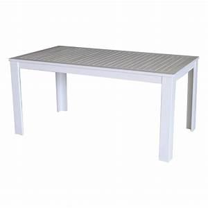 Tisch Weiß Holz : gro er gartentisch tisch garten 160 x 90 akazienholz holz wei fsc 100 ebay ~ Indierocktalk.com Haus und Dekorationen