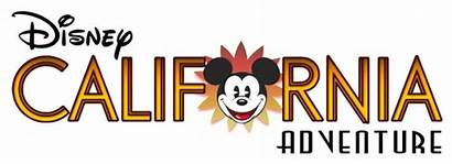 California Adventure Clipart Disney Fonts Sign Logos
