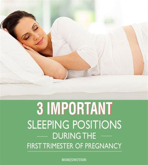 How To Sleep During Pregnancy First Trimester 2