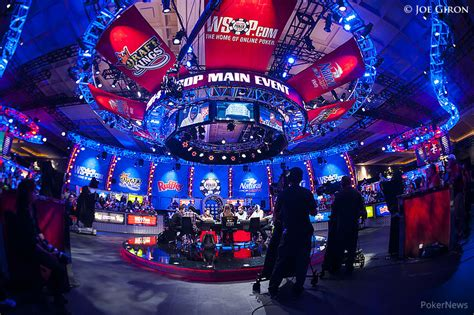 world series  poker main event final table