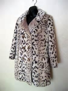 Real Snow Leopard Fur Coat