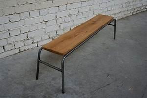 Banc Ecolier Vintage : banc enfant bec 39 enf004 giani desmet meubles indus bois ~ Teatrodelosmanantiales.com Idées de Décoration
