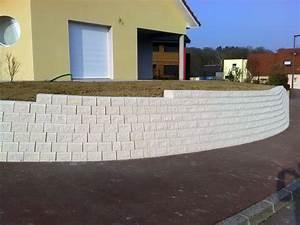 Mur de soutènement Cassard