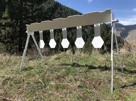 hat creek rifle plate rack mgm targets