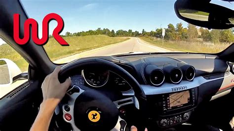 ferrari ff wr tv pov test drive youtube