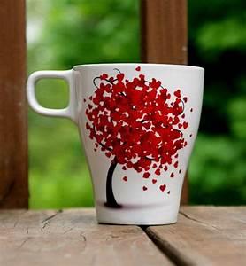 Tassen Bemalen Mit Kindern Vorlagen : tassen bemalen f r eine fr hliche stimmung beim kaffee trinken ~ Frokenaadalensverden.com Haus und Dekorationen