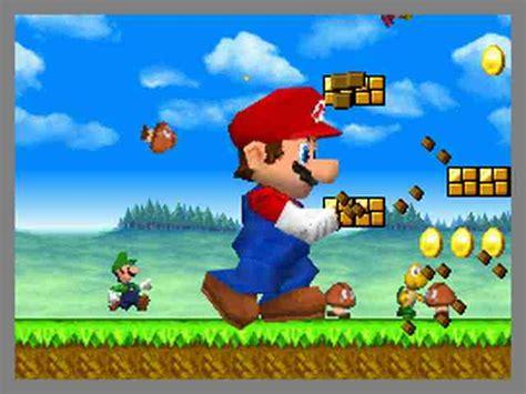 All New Super Mario Bros Screenshots For Nintendo Ds Wii