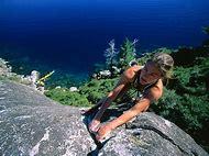 Extreme Rock Climbing Women