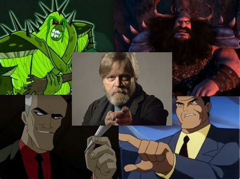mark hamill voices from star wars to gotham the many animated parts of mark