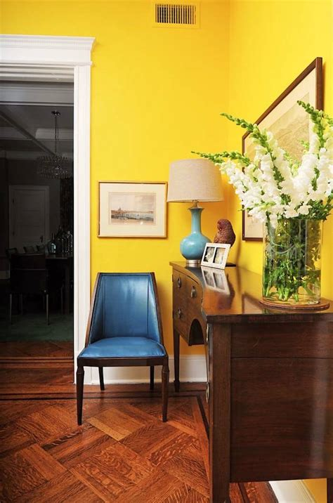 Wand Gelb Streichen by What They Didn T Tell You About The Best Yellow Paint
