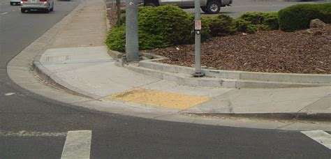 Sidewalk (new) And Curb Ramps