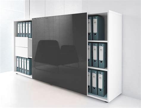 store de bureau armoire de bureau avec porte coulissante brillante mdd