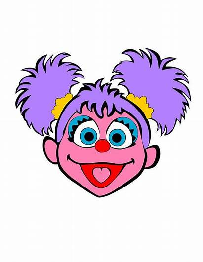 Svg Abby Sesame Cadabby Street Face Elmo