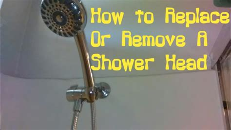 How To Uninstall A Shower - how to install or remove a shower assembly