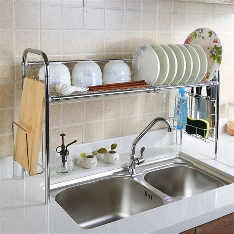 over the sink shelf organizer 12 amazing and cheap ideas for a kitchen make over 1