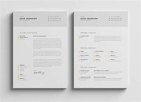 Chronological Resume Minimalist Design by Minimalist Resume Designs Bijeefopijburg Nl