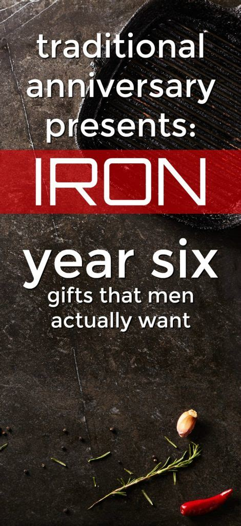 iron  anniversary gifts   unique gifter