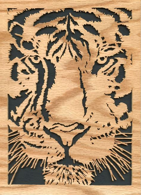 scroll saw designs tiger scroll saw wood working and scroll saw
