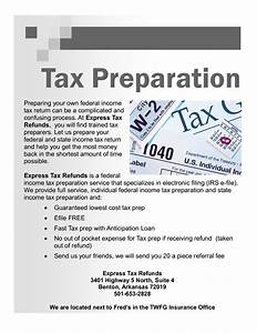 Income tax flyer design wwwimgkidcom the image kid for Tax preparation flyers templates