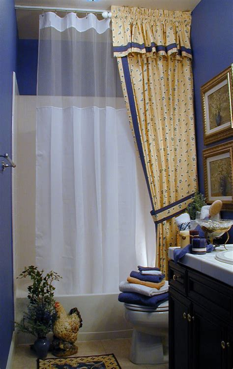 baroque wide shower curtain decoration ideas for