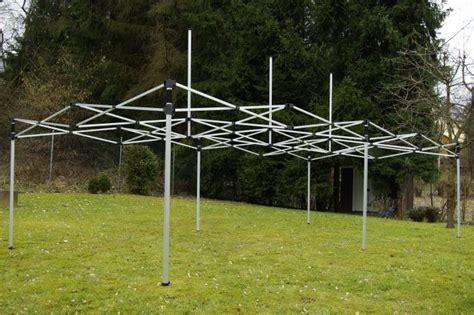 PROFI Faltpavillon Partyzelt 3x6 m grün mit Seitenteilen