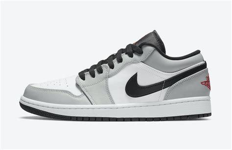 """Air Jordan 1 Low """"light Smoke Grey"""" Coming Soon Sneaker"""