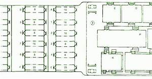 Fuse Box Diagram Mercedes 230 Fuel Injection 2002
