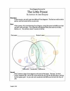 The Little Prince  Venn Diagram Exercise Activities