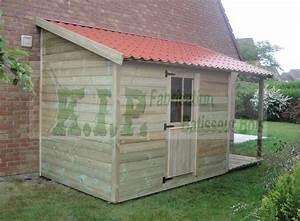 Abri De Jardin Monopente : garage bois toit une pente ~ Dailycaller-alerts.com Idées de Décoration